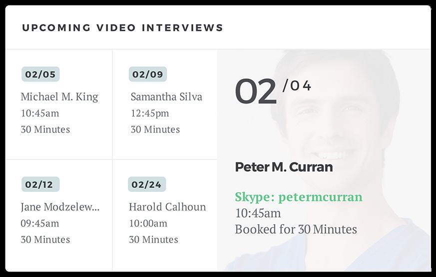 video-interview-management